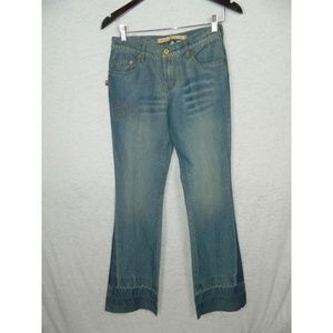 Parasuco Cotton Stretch Denim Boot Cut Jeans Sz 26